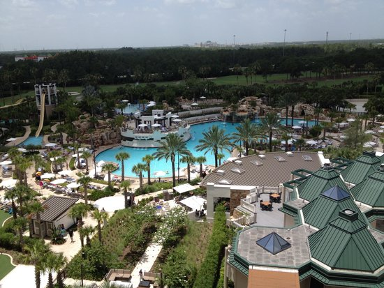 Orlando World Center Marriott : Pool View