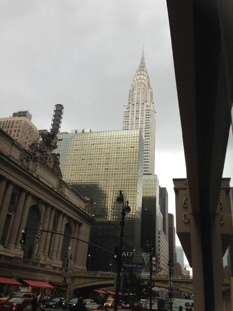 Grand Hyatt New York: between Chrysler and grand Central
