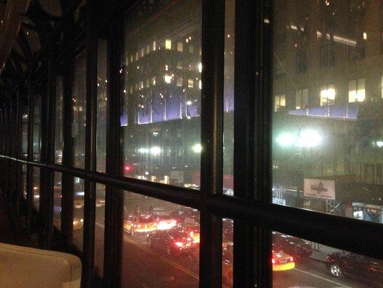 Grand Hyatt New York: View from the restaurant
