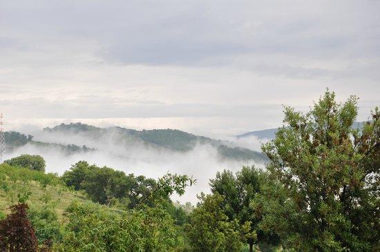 La Foresteria di San Leo : mooi uitzicht
