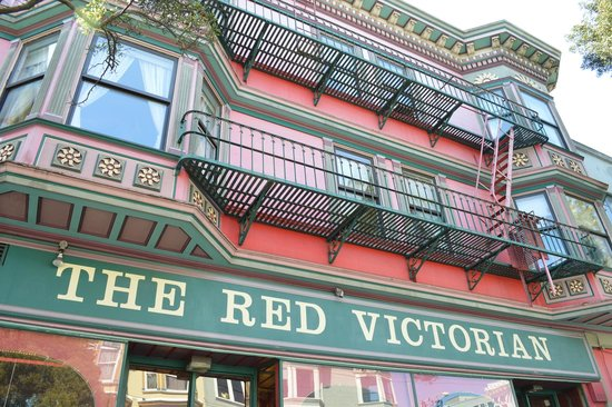 Red Victorian LLC: fachada