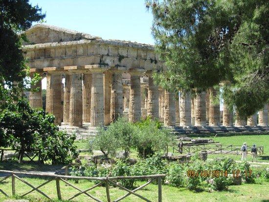Templi Greci di Paestum: One of the spectacular temples