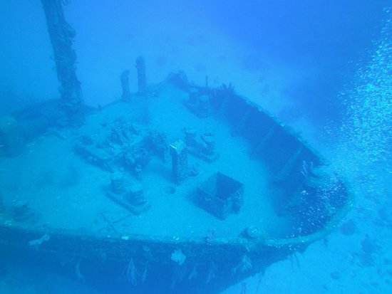 El Aquila Wreck Dive: El Aquila Wreck
