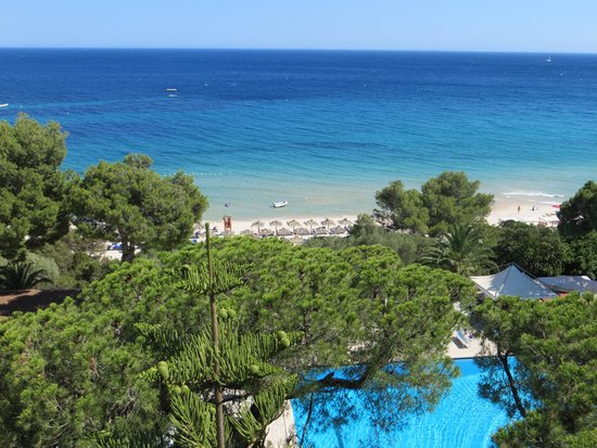Hotel Abamar: view from room 507