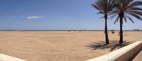 Hotel Las Arenas Balneario Resort: The beach
