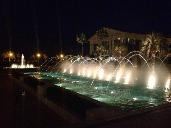 Hotel Las Arenas Balneario Resort : The hotel at night