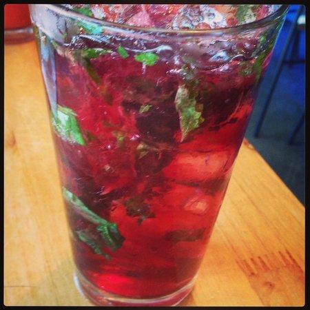 Superfly Martini Bar & Grill: Raspberry Mint