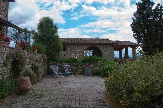 Ancora del Chianti Eco BB & Art Retreat in Tuscany : Il giardino