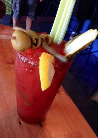 Superfly Martini Bar & Grill: Bloody!