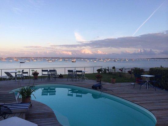 Villa Etche-Ona : Vue de la terrasse