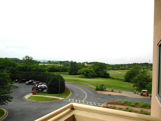 MeadowView Conference Resort & Convention Center : view from 3rd floor room