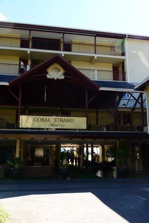 Coral Strand Smart Choice Hotel Seychelles : Вход