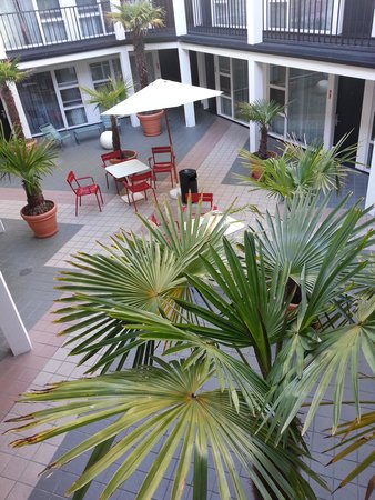 Americania Hotel: the second court yard seen from the 3rd floor