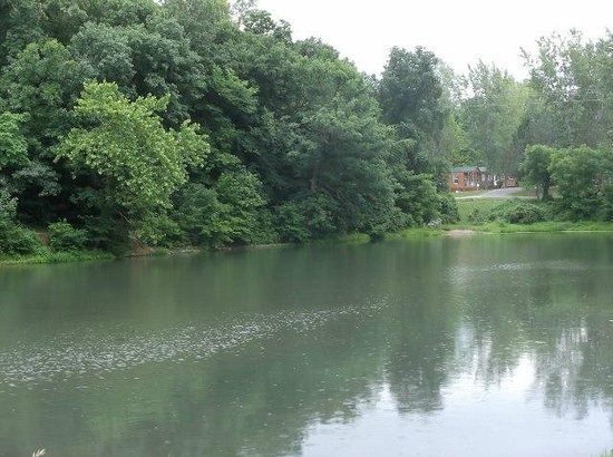Basswood Country Inn and RV Resort: The view from our site