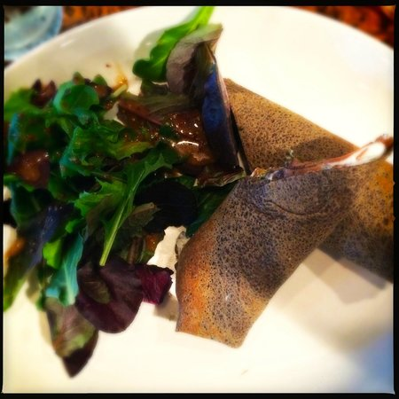Cafe de Paris: Norwegian Savory Crepe