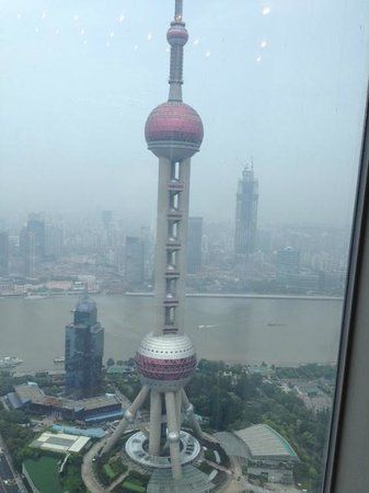The Ritz-Carlton Shanghai, Pudong: View from the breakfast restaurant