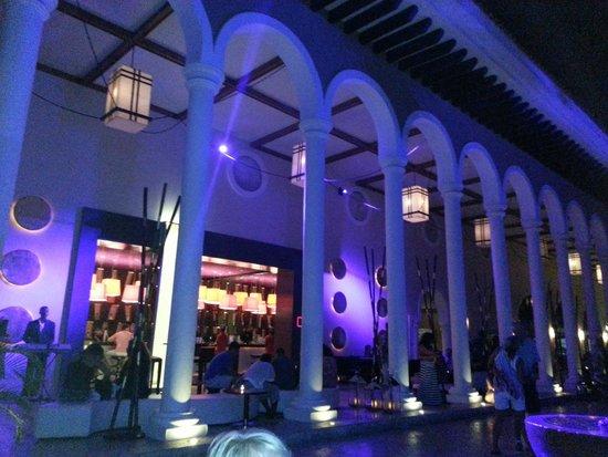 Paradisus Palma Real Golf & Spa Resort: After dinner bar