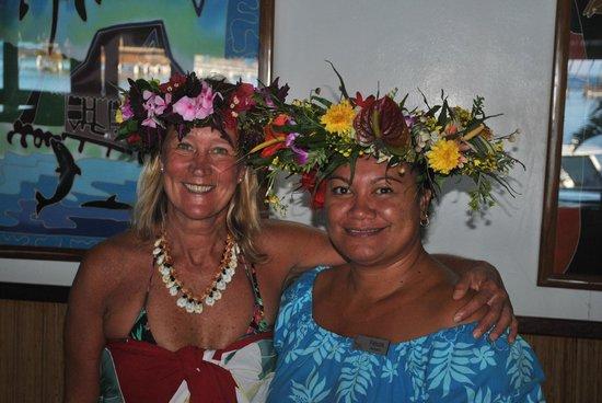 Royal Huahine: La recepcionista...