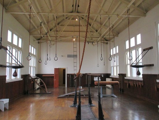 Fordyce Bathhouse (Vistor Center): men's gym