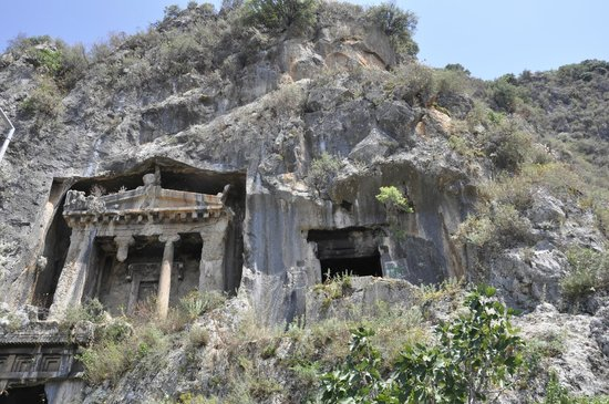 Istanbul Restaurant: Lycian rock tombs