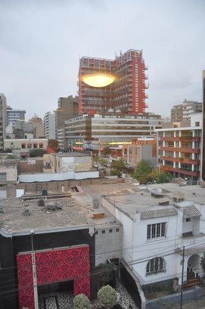 Tierra Viva Miraflores Larco: Vista desde la habitación 507