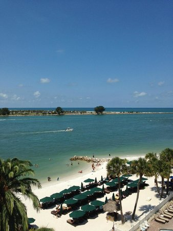 DreamView Beachfront Hotel & Resort: from balcony