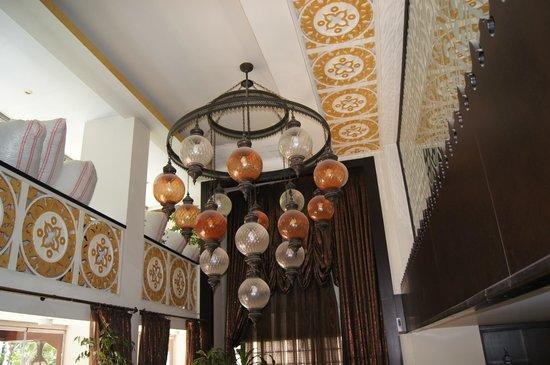 Ottoman Hotel Park: hotel decor