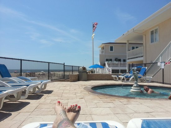 White Sands Oceanfront Resort & Spa : best pool in pt pleasant