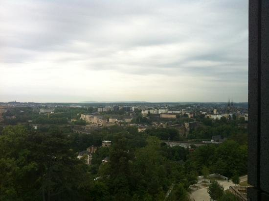 Meliá Luxembourg : View from our room