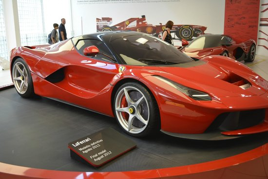 California Dreams Tour Picture Of Ferrari Factory