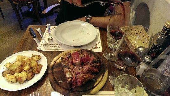 Trattoria Lo Stracotto: Florentine steak