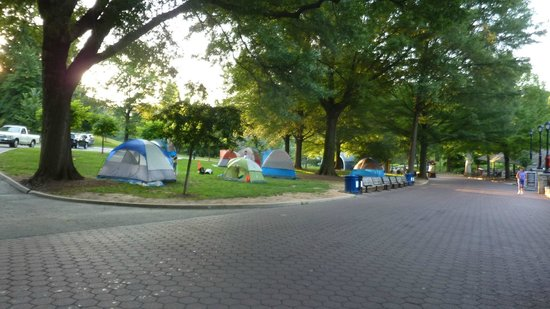 National Zoological Park : Lion Hill camping