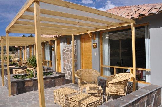 Killawasi Lodge: Terraza