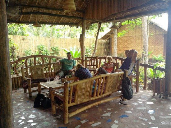 Bohol Lahoy Dive Resort: Relaxbereich