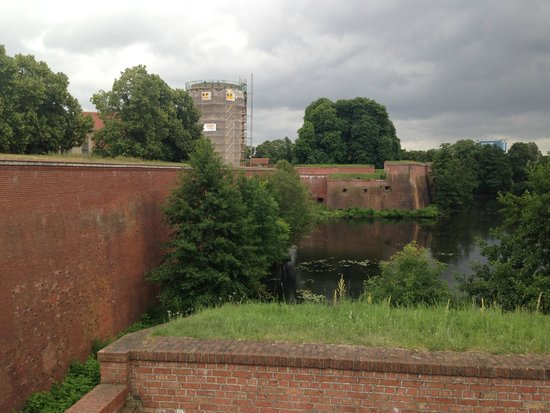 Spandauer Zitadelle: Fragment wschodni umocnień