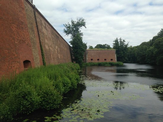 Spandauer Zitadelle: Fragment umocnień