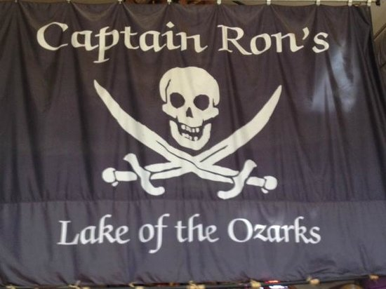 Captain Ron's Bar & Grill: The Ships Flag