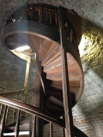 Spandau Citadel (Spandauer Zitadelle ): Schody na szczyt wieży
