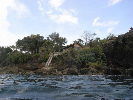 Bohol Lahoy Dive Resort: Blick vom Boot
