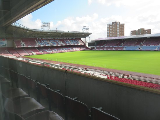 West Ham United Hotel: Great View from Room