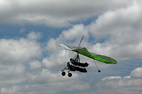Highland Aerosports: Gaining altitude.
