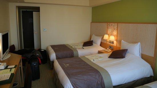 Hotel Monterey Grasmere Osaka : Habitación triple