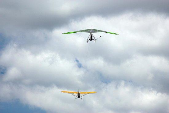 Highland Aerosports: In flight