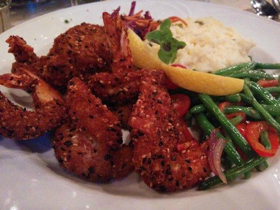 Cabernet Grill Texas Wine Country Restaurant: Sesame crusted jumbo shrimp