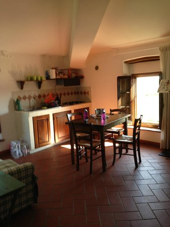 Il Poggiarello: Kitchenette in Il Pino Apartment