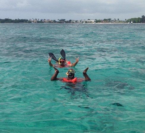 Sandals Montego Bay : Snorkeling in Negril