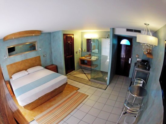 Hotel Rio Malecon Puerto Vallarta: Deluxe King bed with kitchenette