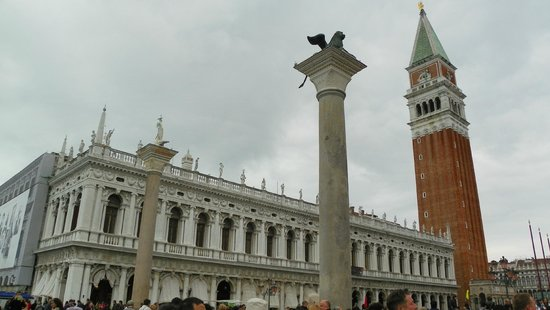 Piazza San Marco (Place St Marc) : Piazza Entrance
