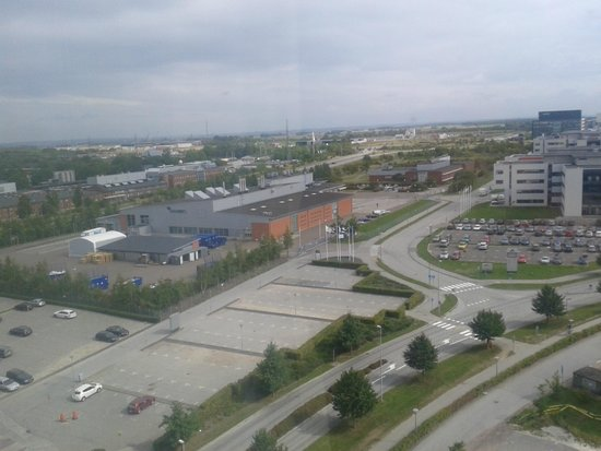 Elite Hotel Ideon: view from room