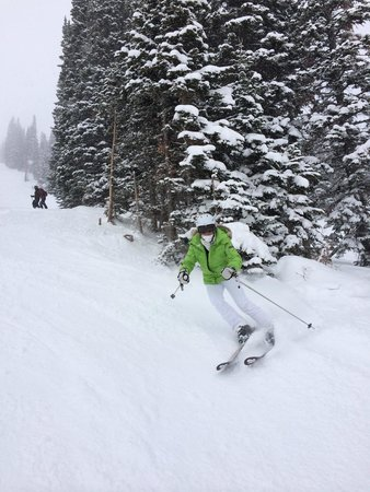 Jackson Hole Mountain Resort : Powder!